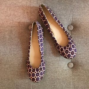 J. Crew. Cece ballet flats. Made in Italy.